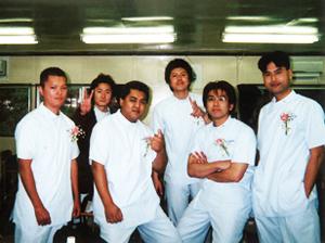 看護学生時代の仲間