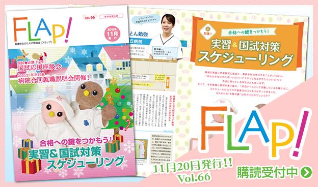 FLAP!vol66 11月20日発行